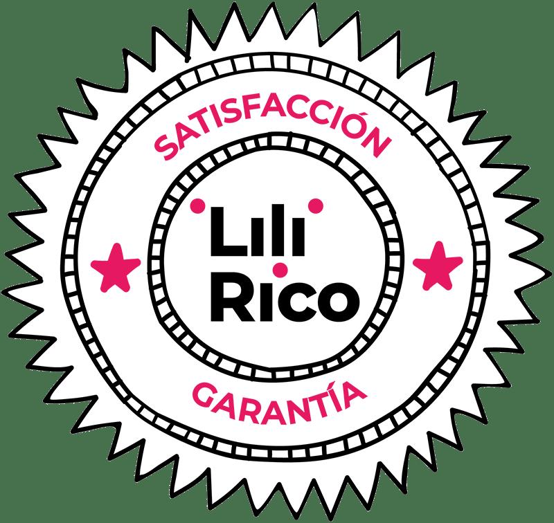 Garantia satisfaccion Lili Rico