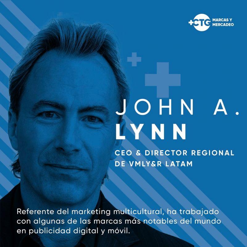 foto de John A. Lynn, CEO y director regional de VMLY&R LATAM