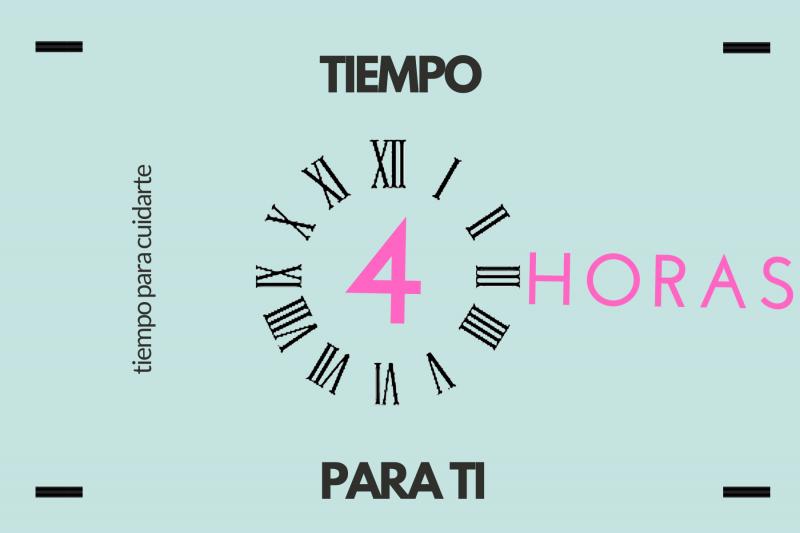imagen de gráfica de cheque de tiempo, 4 horas para ti